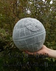Death Star Pillow Cr