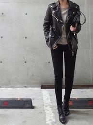 moto jacket & ankle