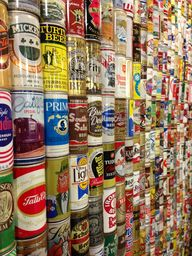 Beer cans from aroun