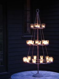 Tiered Tea Light Hol
