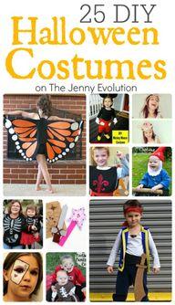 25 DIY Halloween Cos