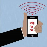 Yelp for business is