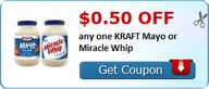 $0.50 off any one KR