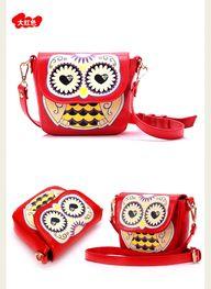 owl bag cute