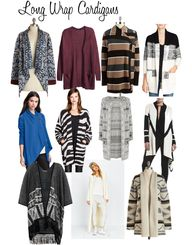 Wrap Cardigans and L...