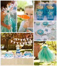 Frozen themed birthd