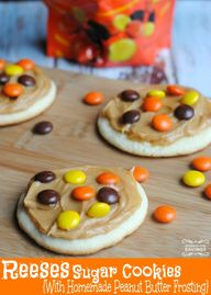 Reeses Sugar Cookies