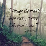 """""""Though the Road's b"""