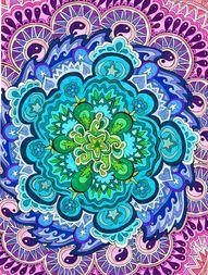 Mystic Mandala Print...