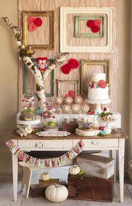 so sweet cake table