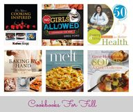 Cookbooks for Fall |