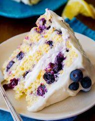 Lemon Blueberry Laye