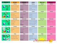 Chore chart schedule