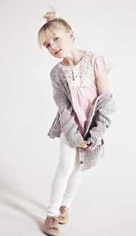 ZARA  Pink Gray Whit