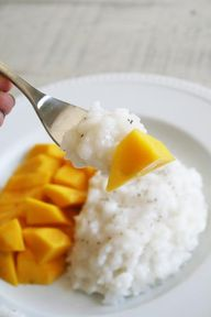 Mango Coconut Sticky
