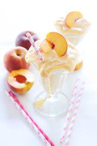 Skinny Peach Milksha