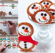 Frosty Snowman Pretz