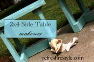 2x4 Side Table Makeo