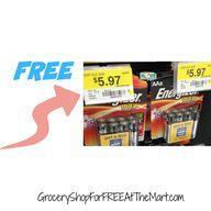 FREE Energizer Batte