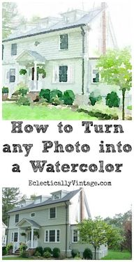How to turn any phot