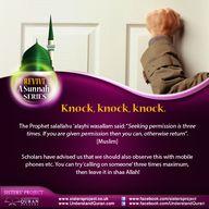 Revive a Sunnah: Kno