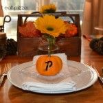 fall place setting w