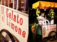 gelato cart #wedding