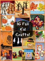 16 fall crafts