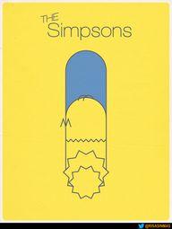 Cartel de Los Simpso