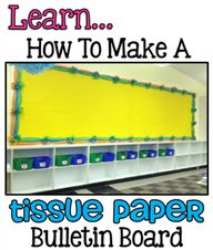 Tissue Paper Border...
