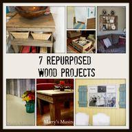 7 Repurposed Wood Pr