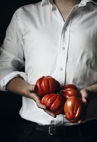 Tomatoes from the ma