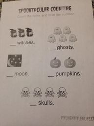 spooky counting prin