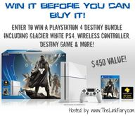 Group Giveaway: PS4...