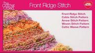 Crochet Front Ridge