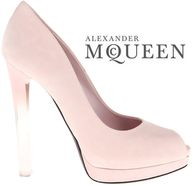 Alexander McQueen   Fall 2012 - Transparent Heels  #shoes