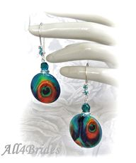 Peacock Earrings Bri