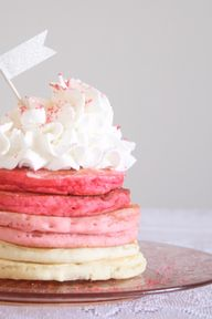 Ombre Pancakes - the
