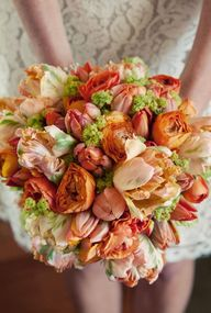 Wedding bouquet in o