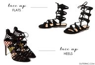 lace-up sandals - fl