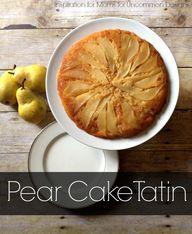 """Pear Cake """"Tatin""""..."""