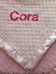 Luxury baby blanket