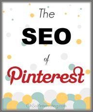 The SEO of Pinterest