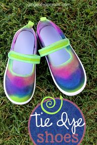 Tie Dye Shoes for #b