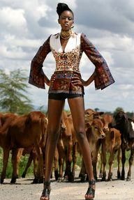 KikoRomeo does tribal chic