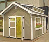 Garden shed trim, do
