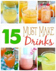 15 Must Make Drink R
