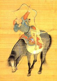 Kubla Khan's warrior