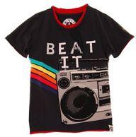 Beat It Boom Box Tee