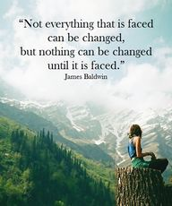 """Not everything that..."